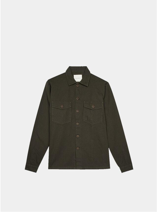 Seaweed Green Utility Shirt