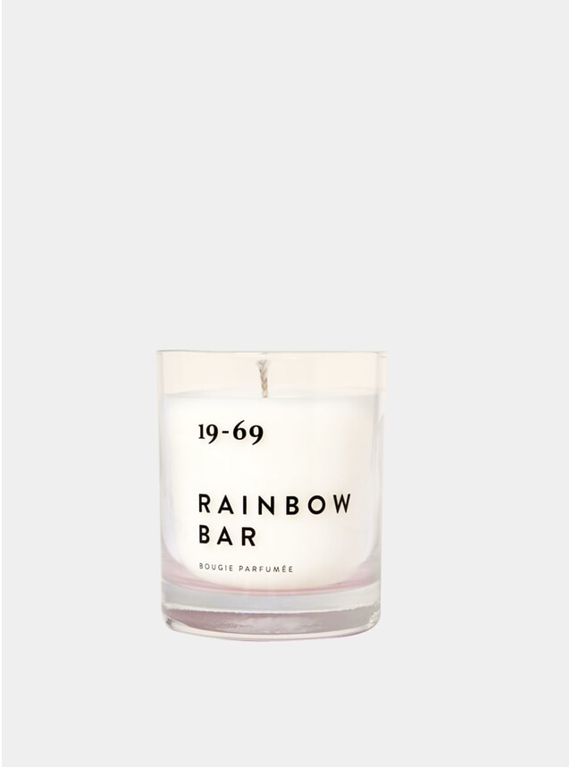 Rainbow Bar Candle