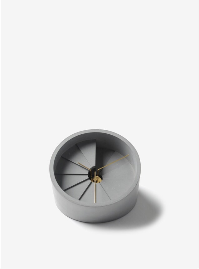 Gold / Grey 4th Dimension Clock