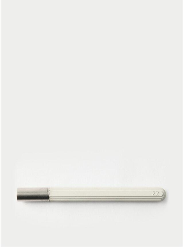 White Contour Rollerball Pen