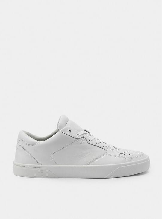 2A Reinweiss Sneakers