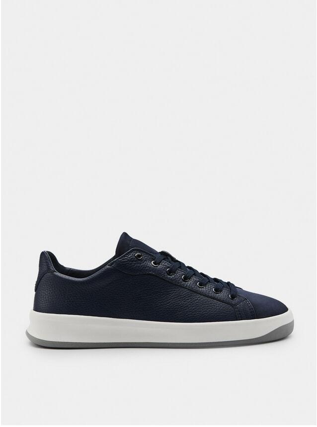 3A Marineblau Sneakers