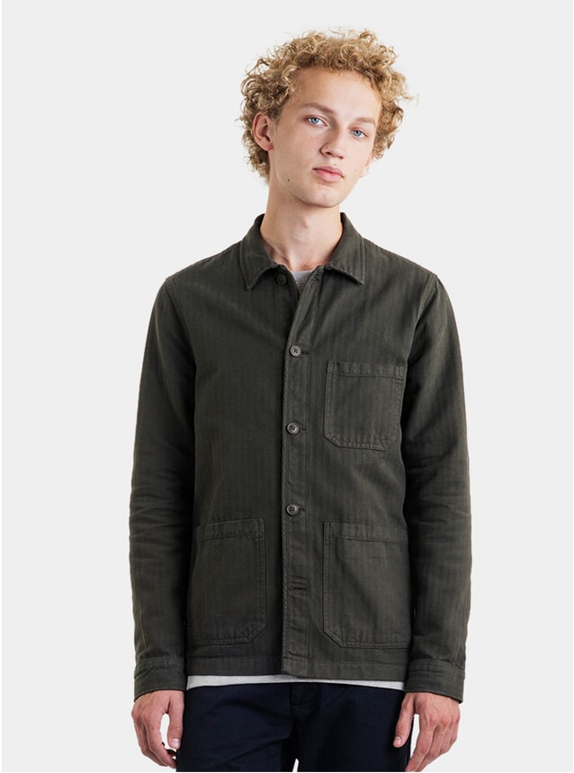 Army Herringbone Original Overshirt