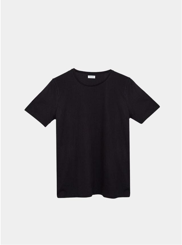 Black Organic T Shirt