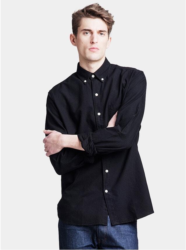 Black Oxford Shirt