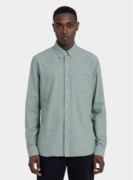 Eucalyptus Dyed Oxford Shirt