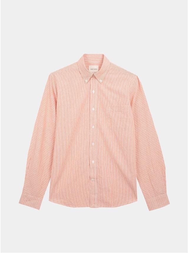 Fire / Off White Lightweight Oxford Shirt