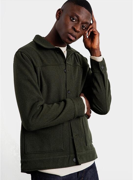 Forest Shoulder Patch Jacket