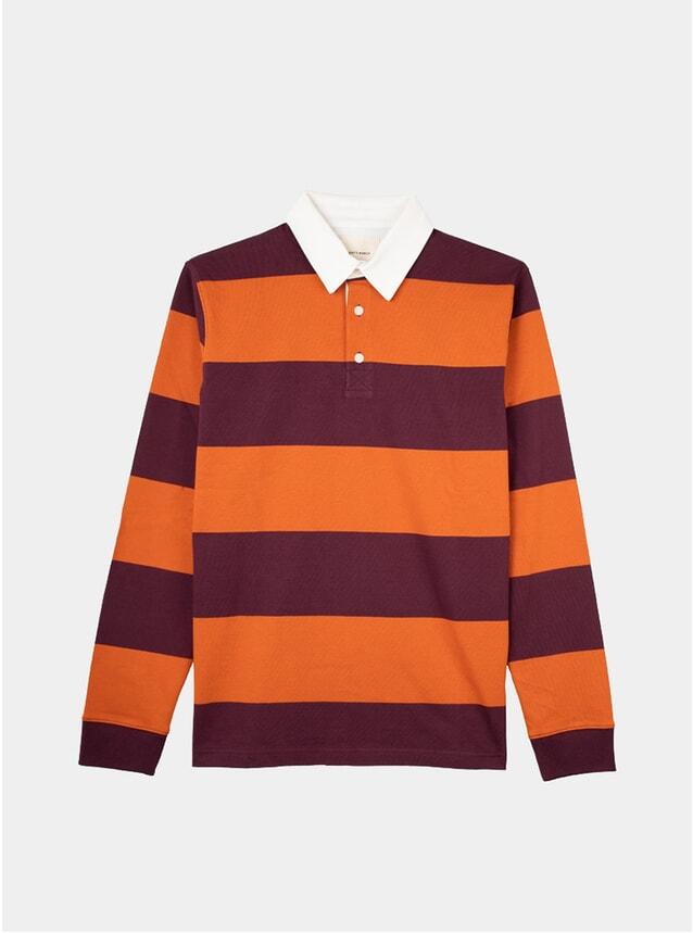 Grape / Marigold Rugby Shirt