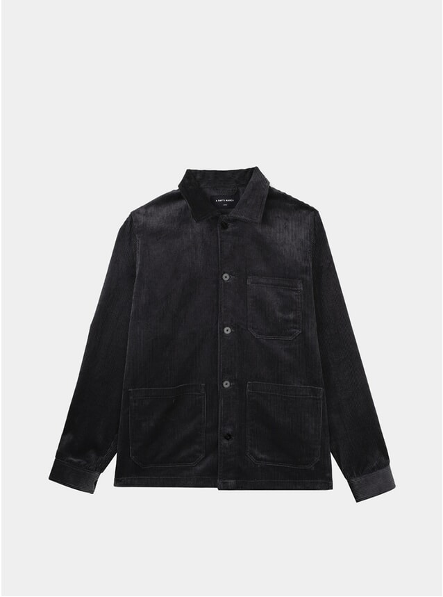 Graphite Corduroy Original Overshirt