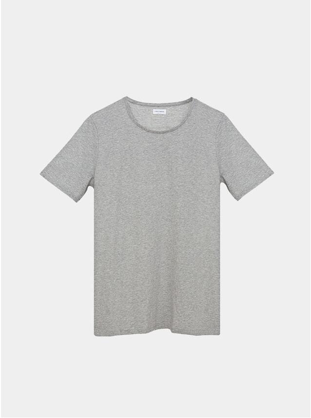 Grey Melange Organic T Shirt