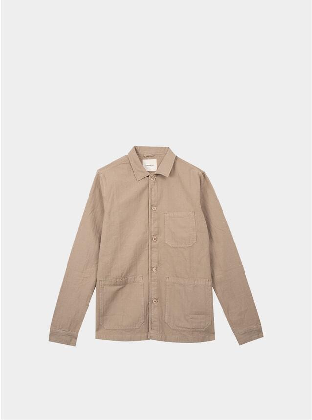 Khaki Original Herringbone Overshirt