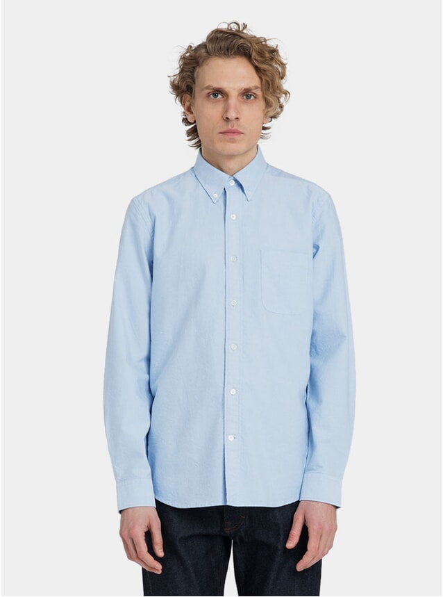 Light Blue Classic Oxford Shirt