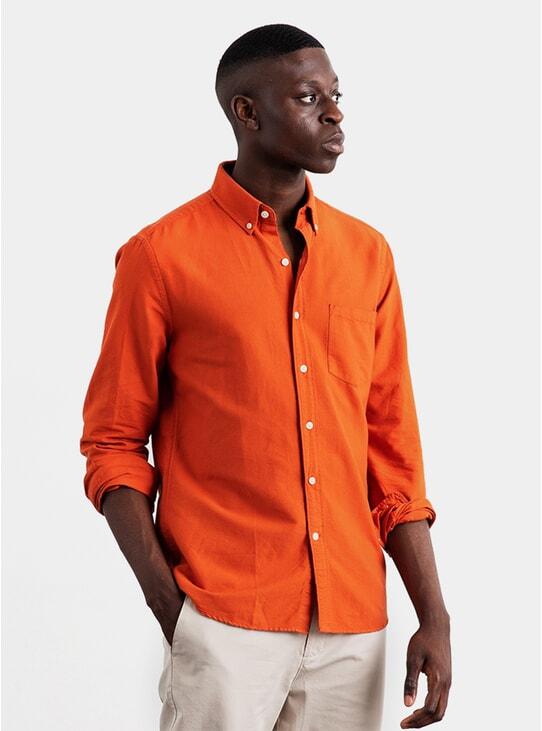Marigold Dyed Oxford Shirt