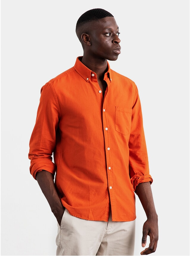 Marigold Dyed Oxford Shirt