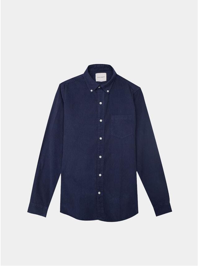 Navy Baby Cord Shirt