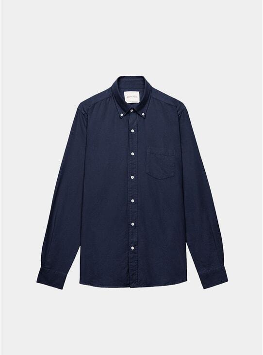 Navy Oxford Shirt