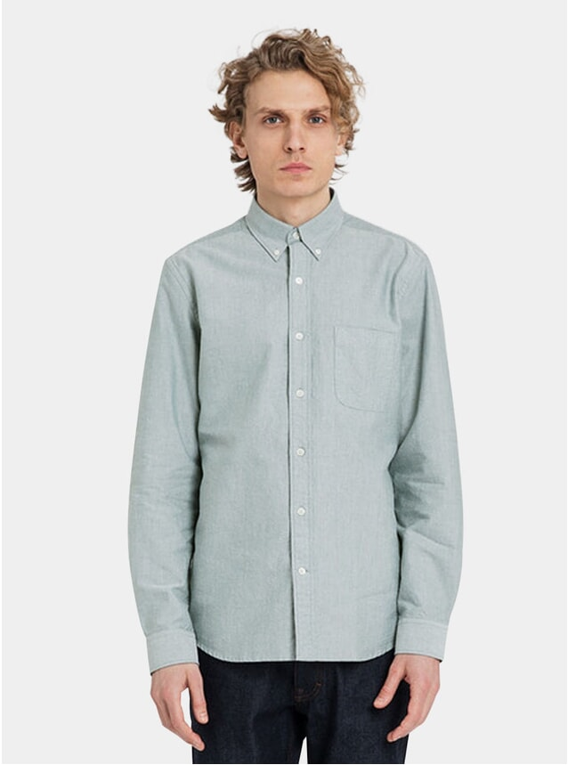 Olive Classic Oxford Shirt