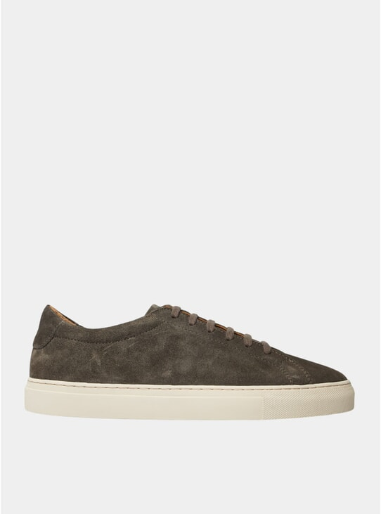 Olive Marching Sneakers