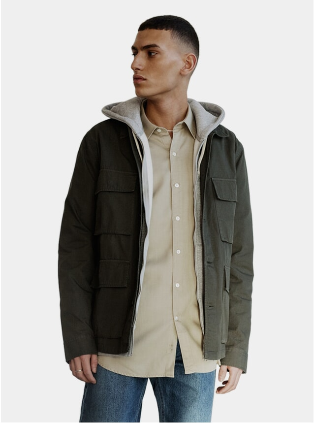 Olive Ripstop Field Jacket