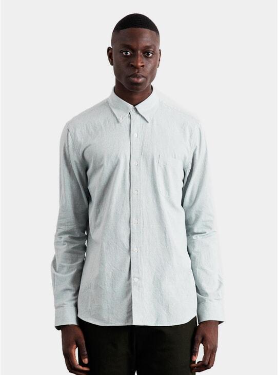 Sage Lightweight Oxford Shirt