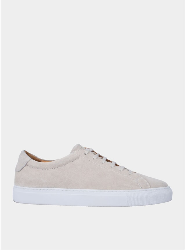 Sand Marching Suede Sneakers