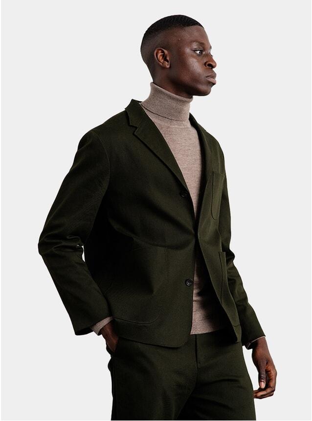 Seaweed Twill Jacket