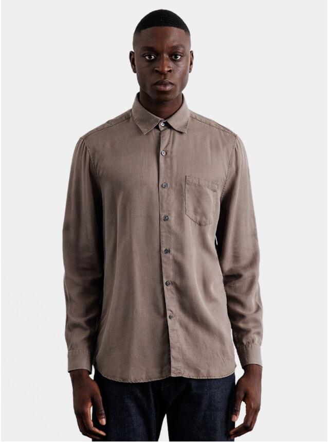 Shiitake Tencel Shirt