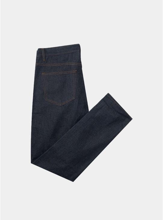 Tumbled Raw Denim No.2 Jeans