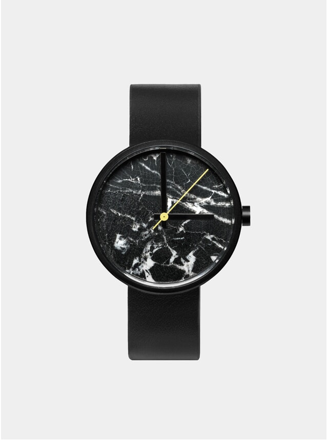 Nero Marble Watch
