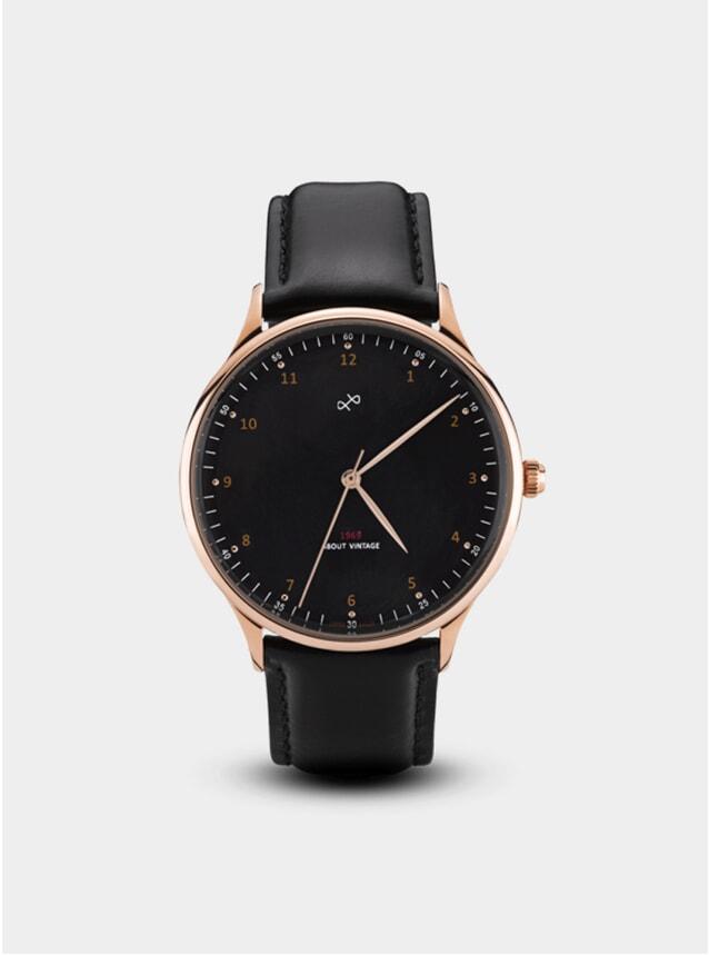 Rose Gold / Black 1969 Vintage Watch