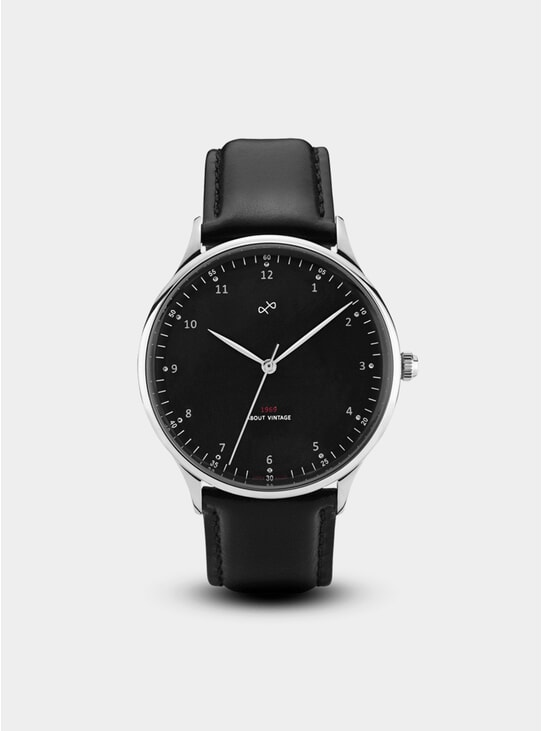 Steel / Black 1969 Vintage Watch
