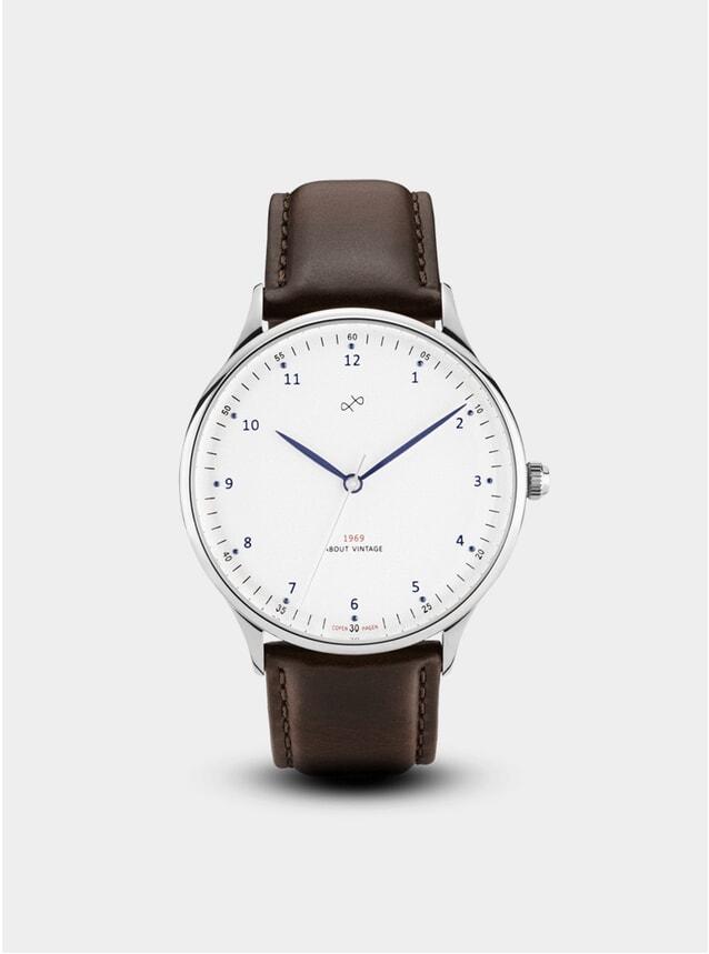 Steel / White 1969 Vintage Watch