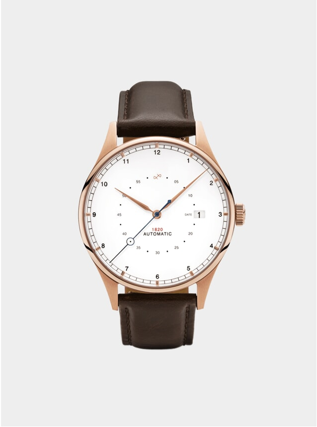 Two Toned / Rose Gold 1820 Automatic Watch