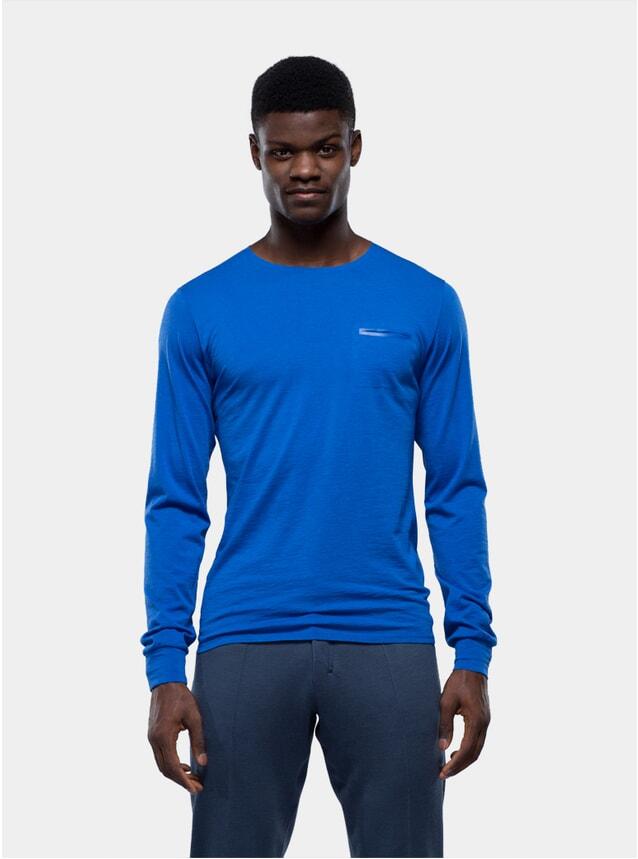 Blue Long Sleeve Jersey