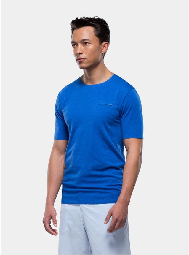 Blue Short Sleeve Jersey