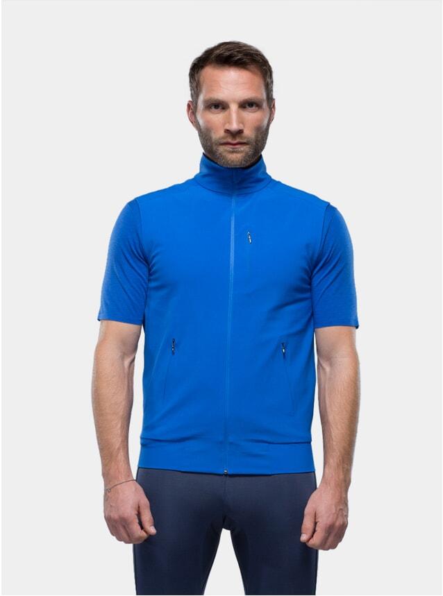Blue Wind Vest