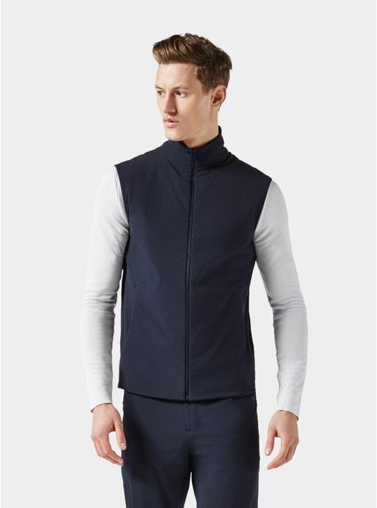 Dark Blue Padded Vest