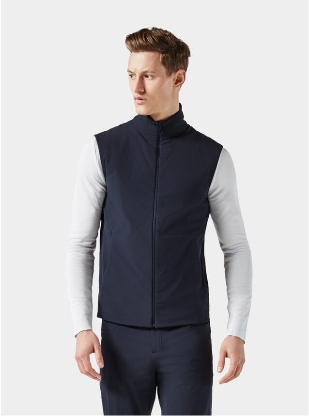 Dark Blue Padded Vest