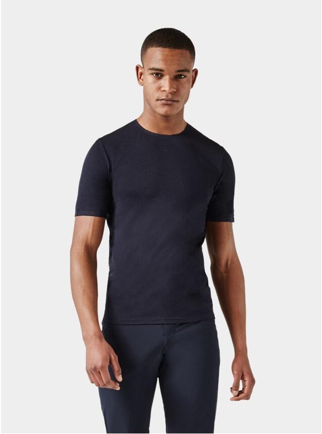 Dark Blue Short Sleeve Jersey