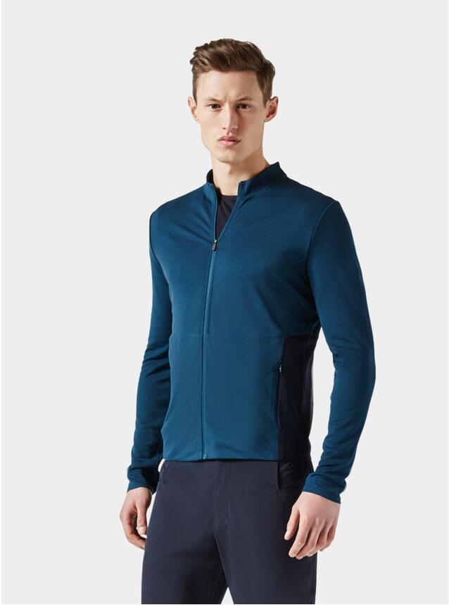 Dark Petrol / Dark Blue Jersey Jacket