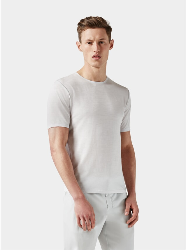 Light Grey Short Sleeve Jersey