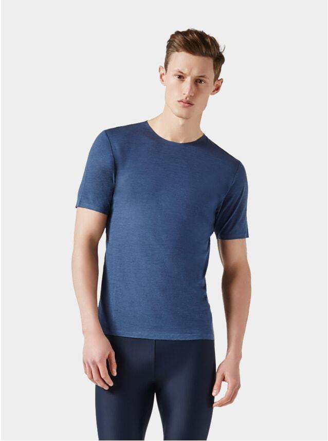 Mid Blue / Dark Blue Short Sleeve Jersey