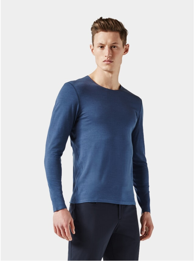 Mid Blue Long Sleeve Jersey