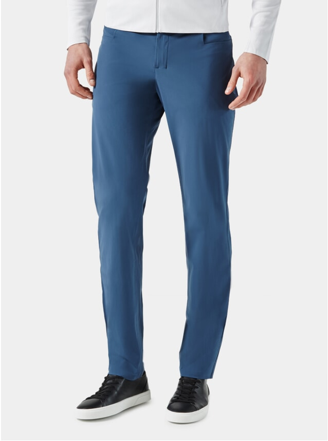 Mid Blue Slim Fit Trousers