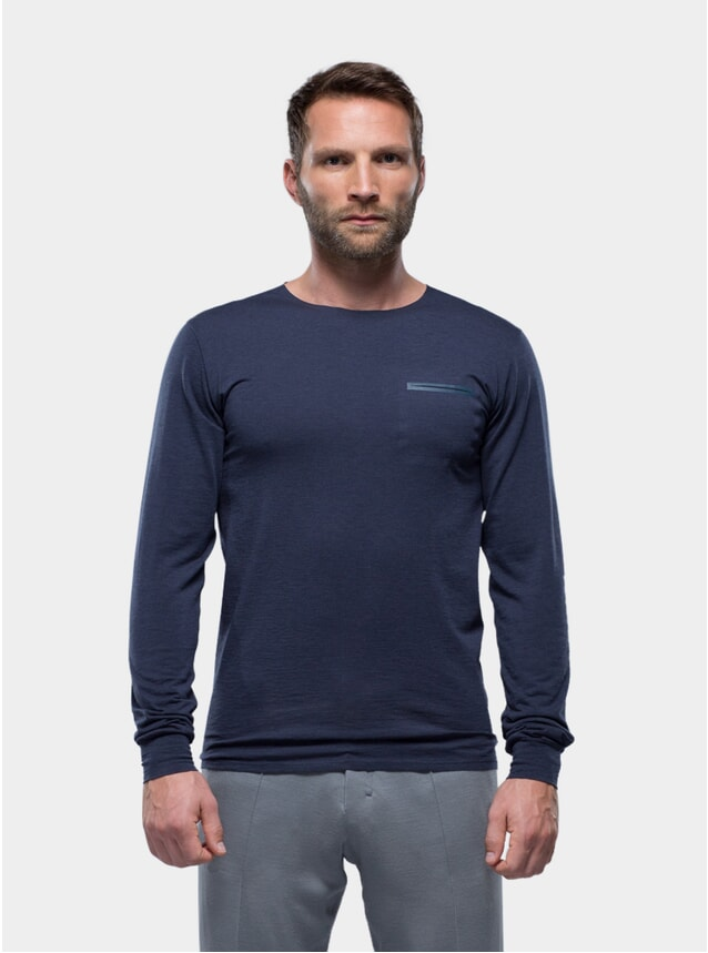 Navy Long Sleeve Jersey