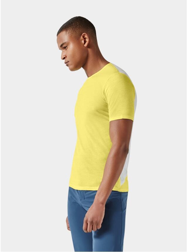 Yellow / Light Grey Short Sleeve Jersey