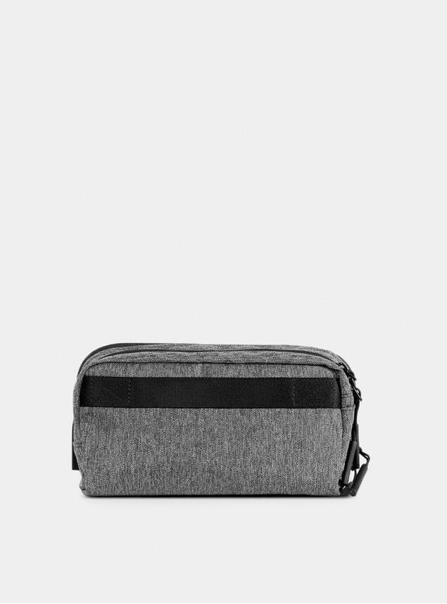Gray Dopp Kit