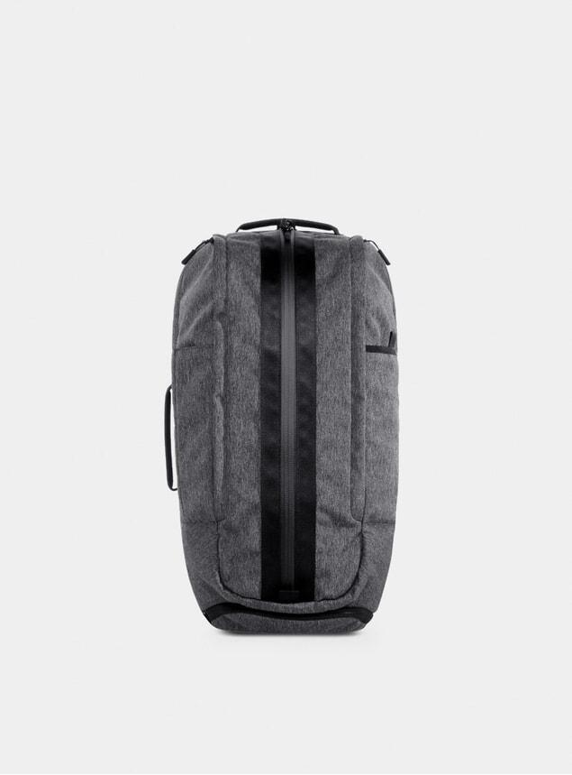 Gray Duffel Backpack