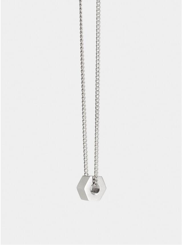 Silver Nut Pendant